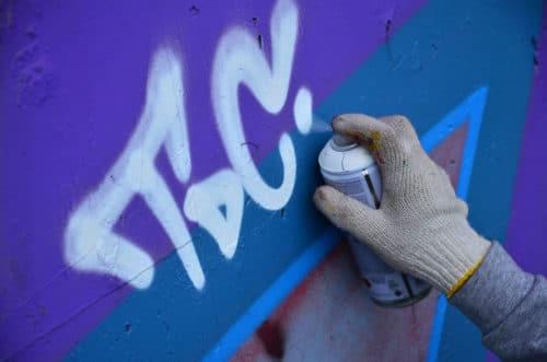 Graffitis als Sachbeschädigung