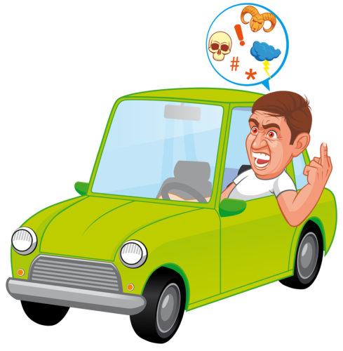 Fahrverbot für Autofahrer bei Nötigung und Beleidigung?