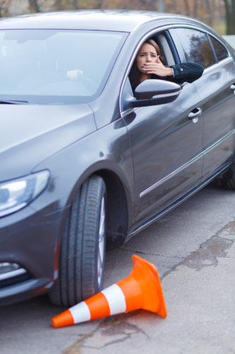 Erzwingen des Vorrechts auf einem Parkplatz - Verwerflichkeit