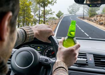 Trunkenheit im Verkehr - mehrmaliges Überfahren der Spurbegrenzunglinie