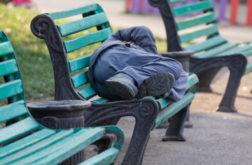 Strafbefehlsverfahren gegen einen Wohnsitzlosen